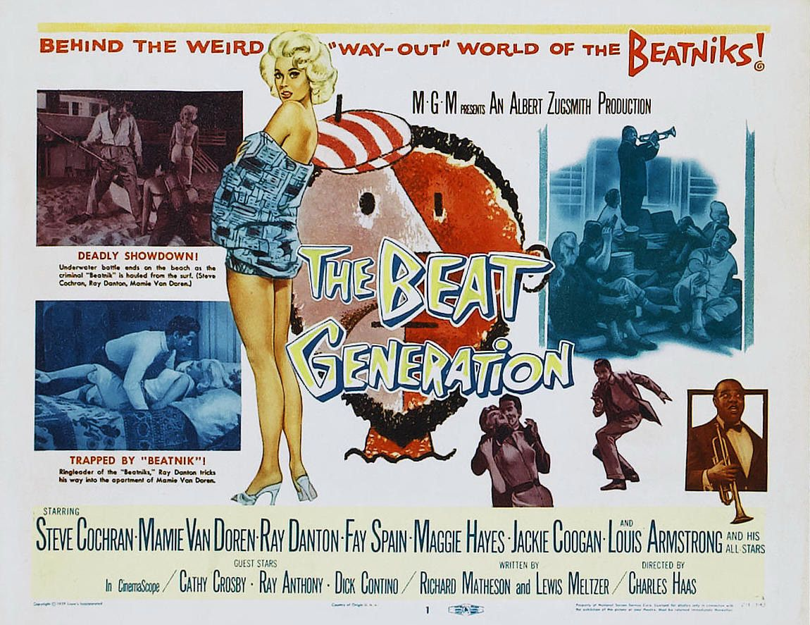 Extra Large Movie Poster Image for The Beat Generation (#2 of 2)