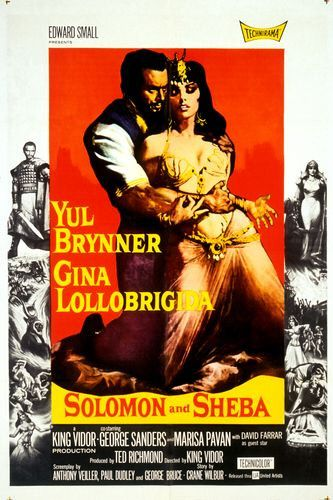 Solomon and Sheba Movie Poster