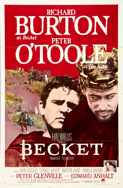 Becket Movie Poster
