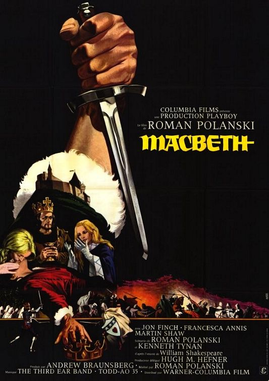 Image result for macbeth movie 1971 poster