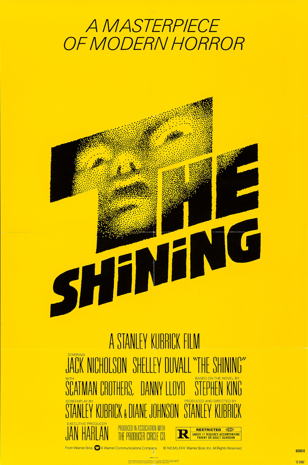 Extra Large Movie Poster Image for The Shining