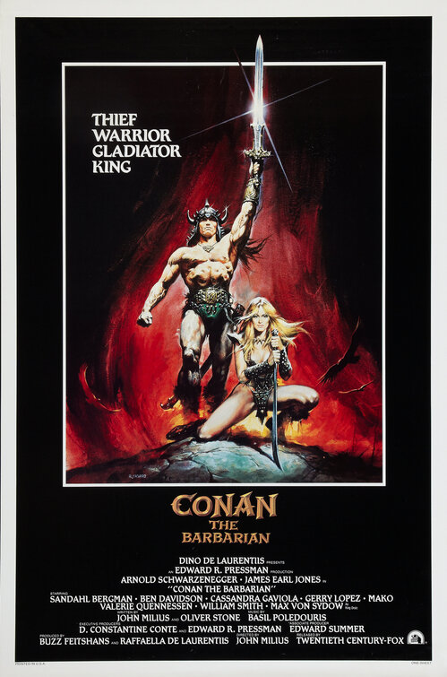 Conan the Barbarian Movie Poster