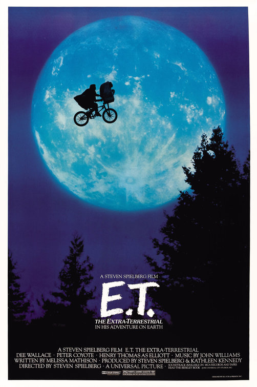 E.T. the Extra-Terrestrial Poster - Click to View Extra Large Image