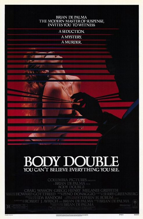 Image result for body double 1984 poster