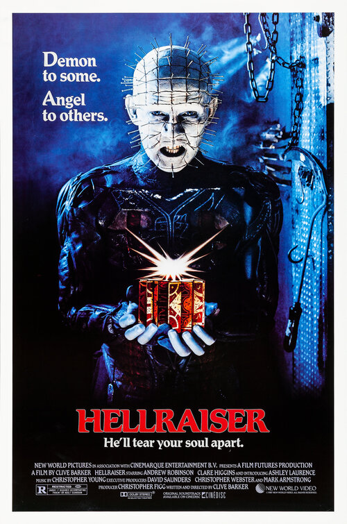 Image result for Hellraiser poster