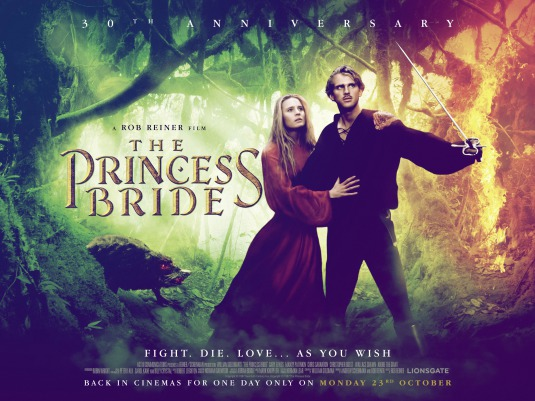 The Princess Bride Movie Poster 3 Of 3 IMP Awards