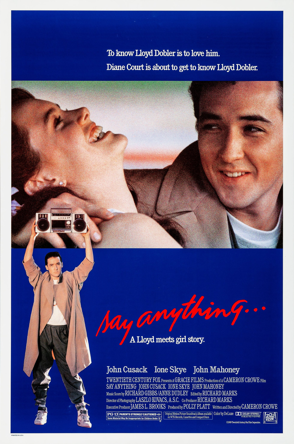 Image result for say anything poster