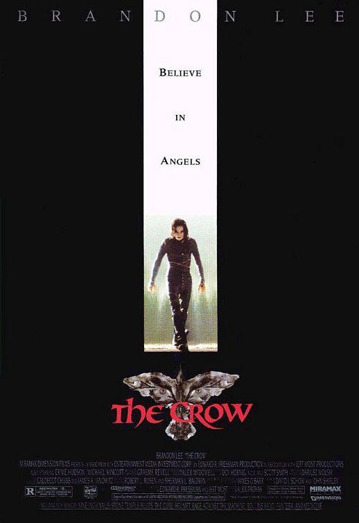 brandon lee the crow movie poster