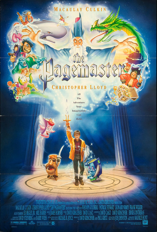 The Pagemaster Movie Poster