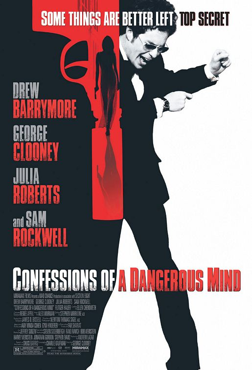 Image result for confessions of a dangerous mind poster