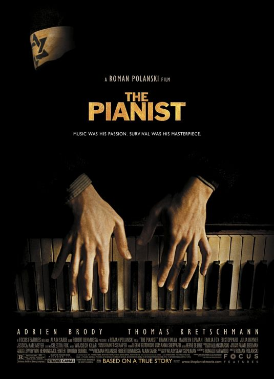 Image result for the pianist poster