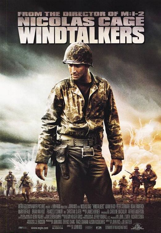 Windtalkers Movie Poster 1 Of 3 Imp Awards