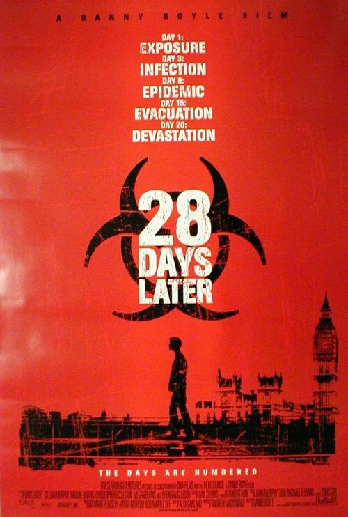 Image result for 28 days later poster