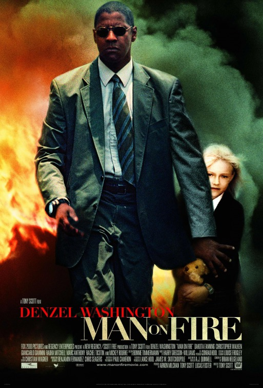 denzel washingon and dakota fanning man on fire
