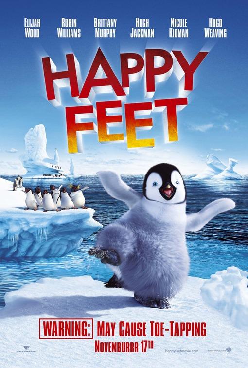 """Résultat de recherche d'images pour """"happy feet movie poster"""""""
