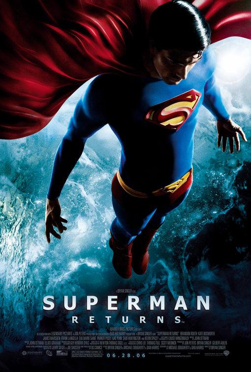 Superman Returns Movie Poster