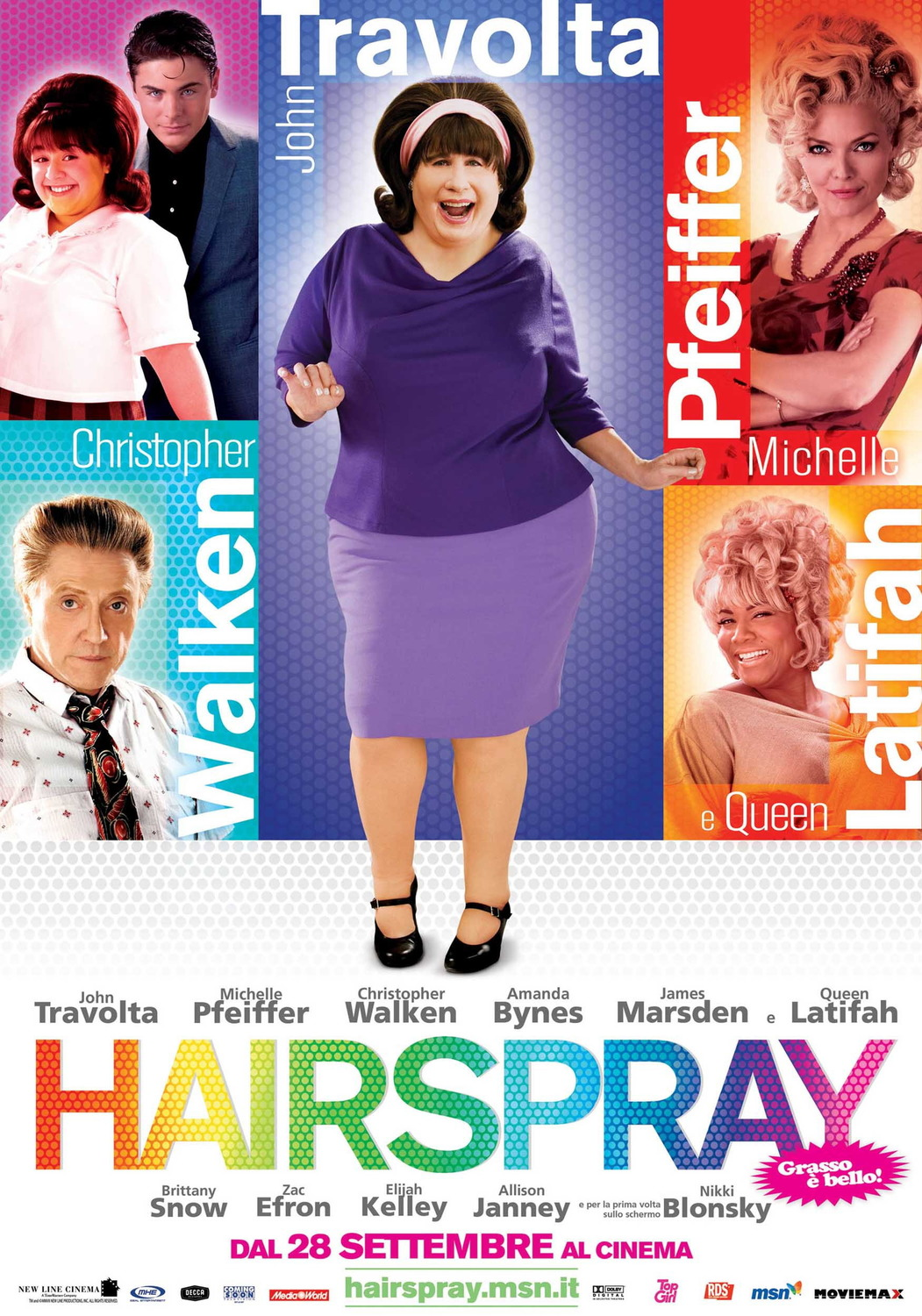 Image result for hairspray movie poster