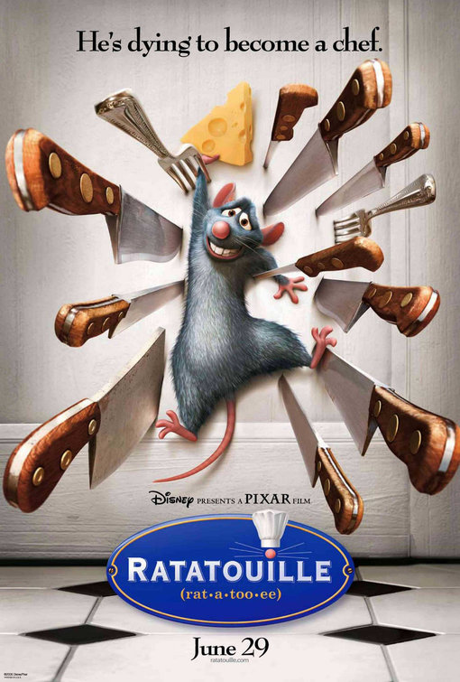 Image result for ratatouille movie posters