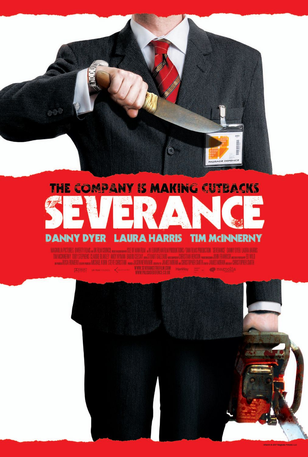 Extra Large Movie Poster Image for Severance (#6 of 7)
