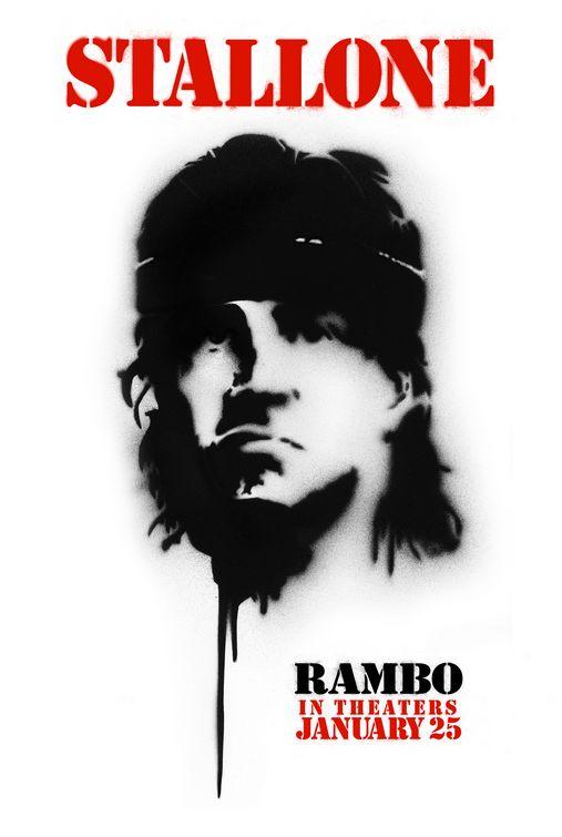 Rambo Movie Poster (#2 of 6) - IMP Awards