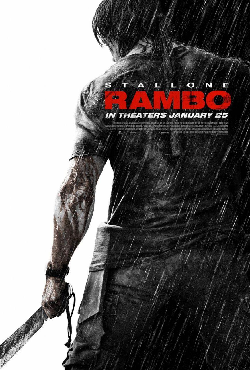 Rambo (#1 of 6): Extra Large Movie Poster Image - IMP Awards