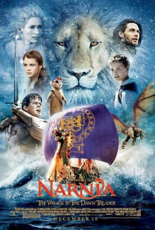 The Chronicles of Narnia: The Voyage of the Dawn Treader Movie Poster