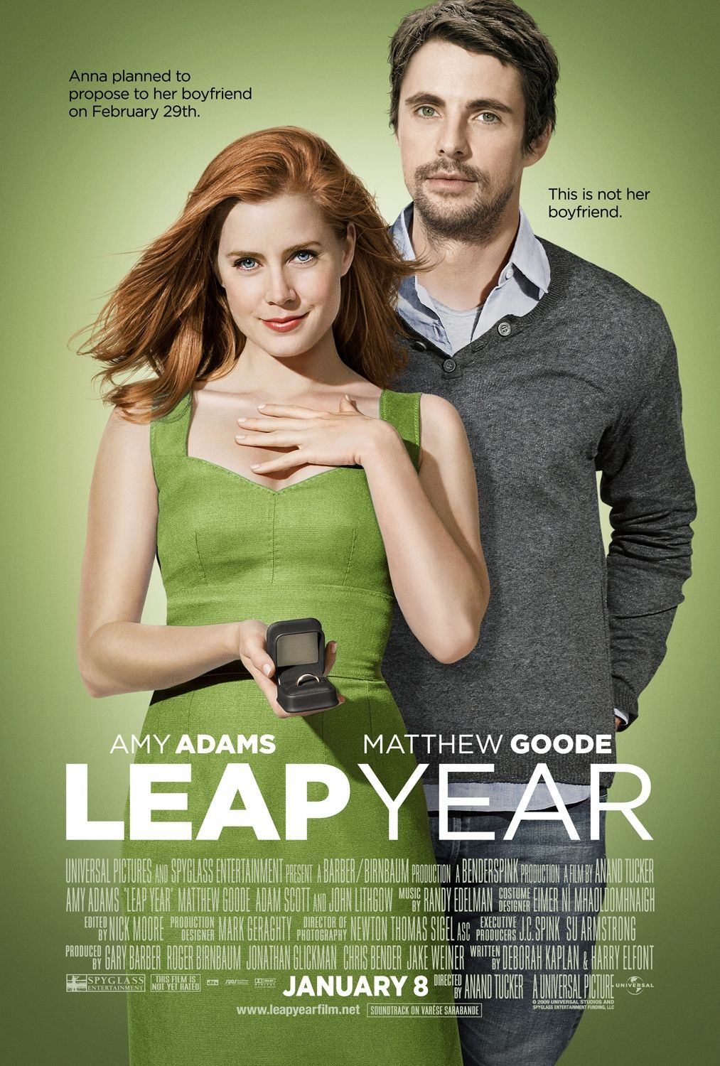 Image result for leap year movie poster