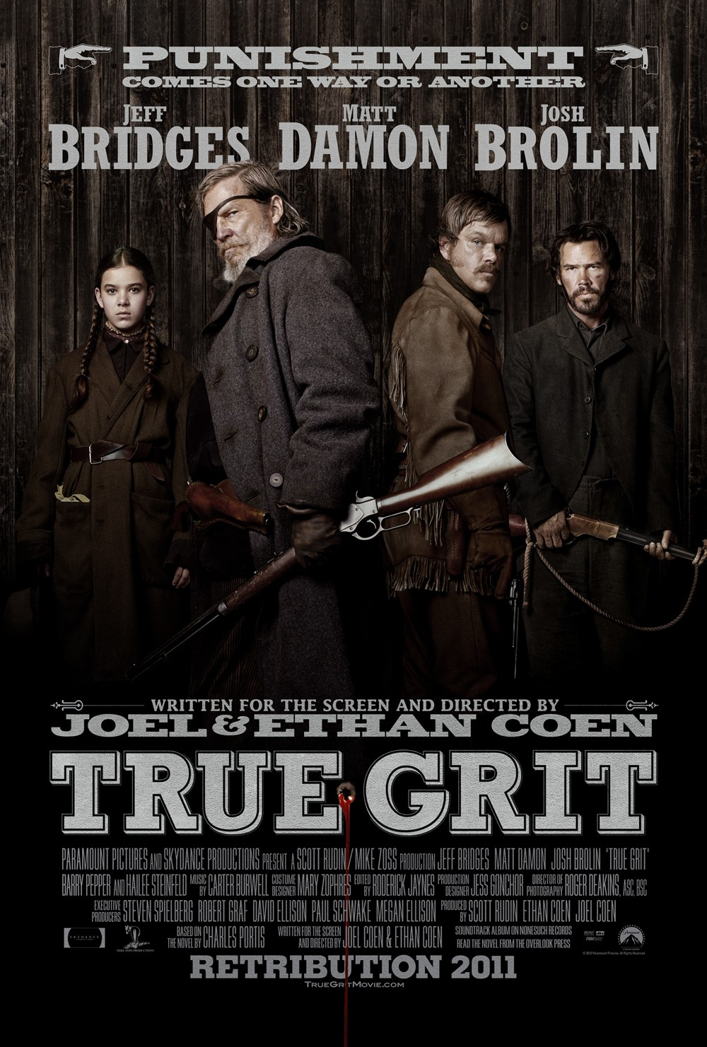 Image result for true grit movie poster 2010