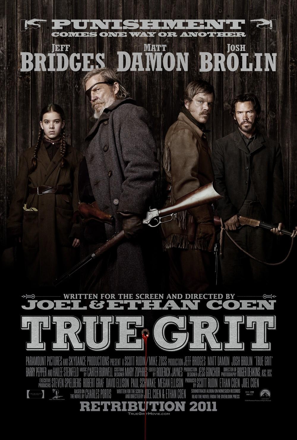 Image result for true grit movie poster 2010