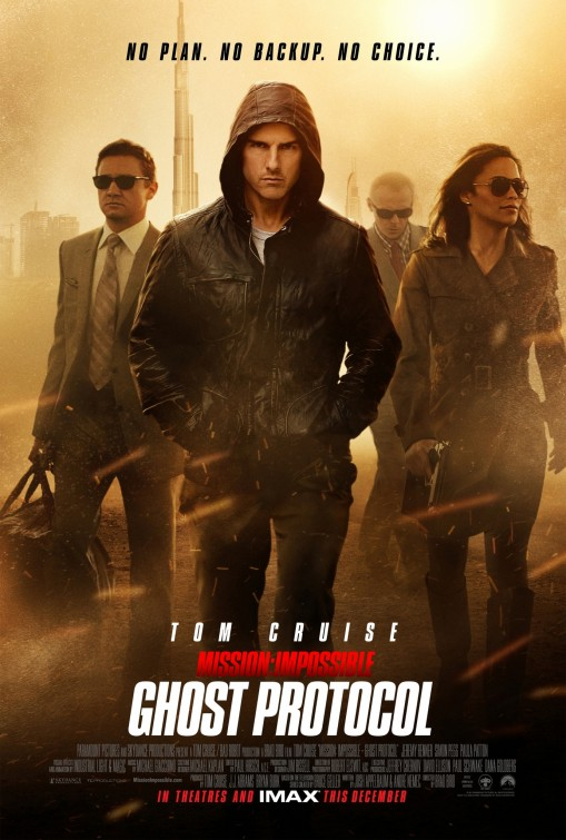 Image result for mission impossible ghost protocol movie poster