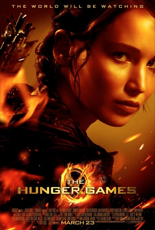 Resulta ng larawan para sa the hunger games movie poster