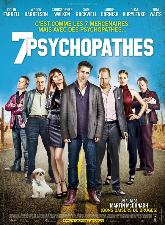 Seven Psychopaths 2012 movie