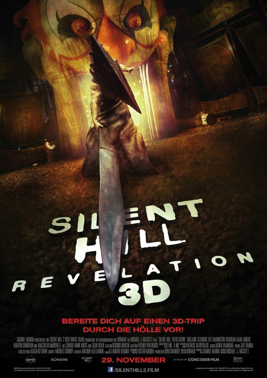 Silent Hill: Revelation 3D Movie Poster