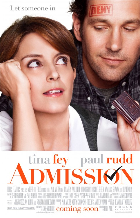 Admission (2013) Movie Review