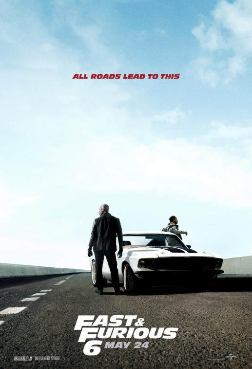 Fast Furious 6 Movie Poster 5 Of 7 Imp Awards