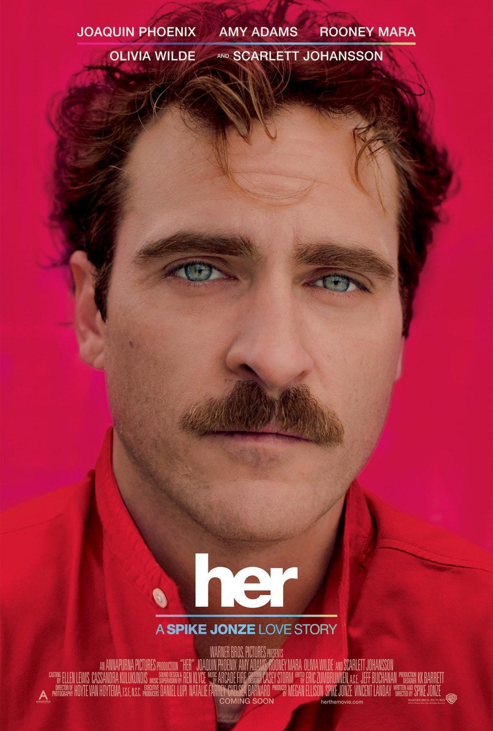 Extra Large Movie Poster Image for Her