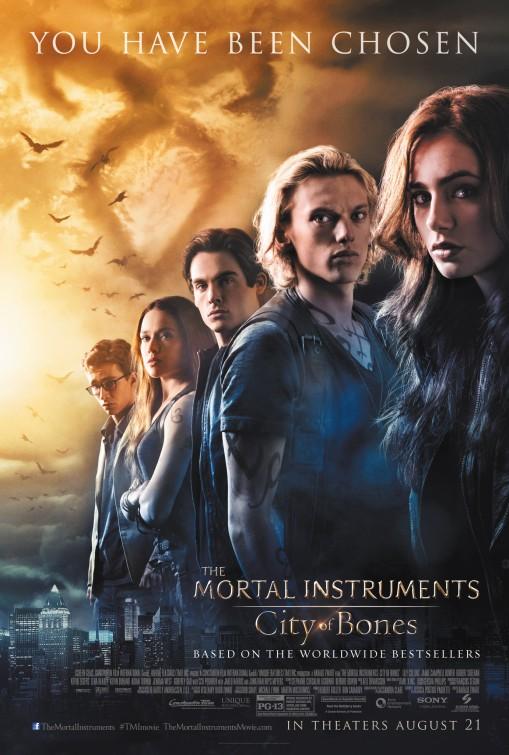 The Mortal Instruments: City of Bones Movie Poster
