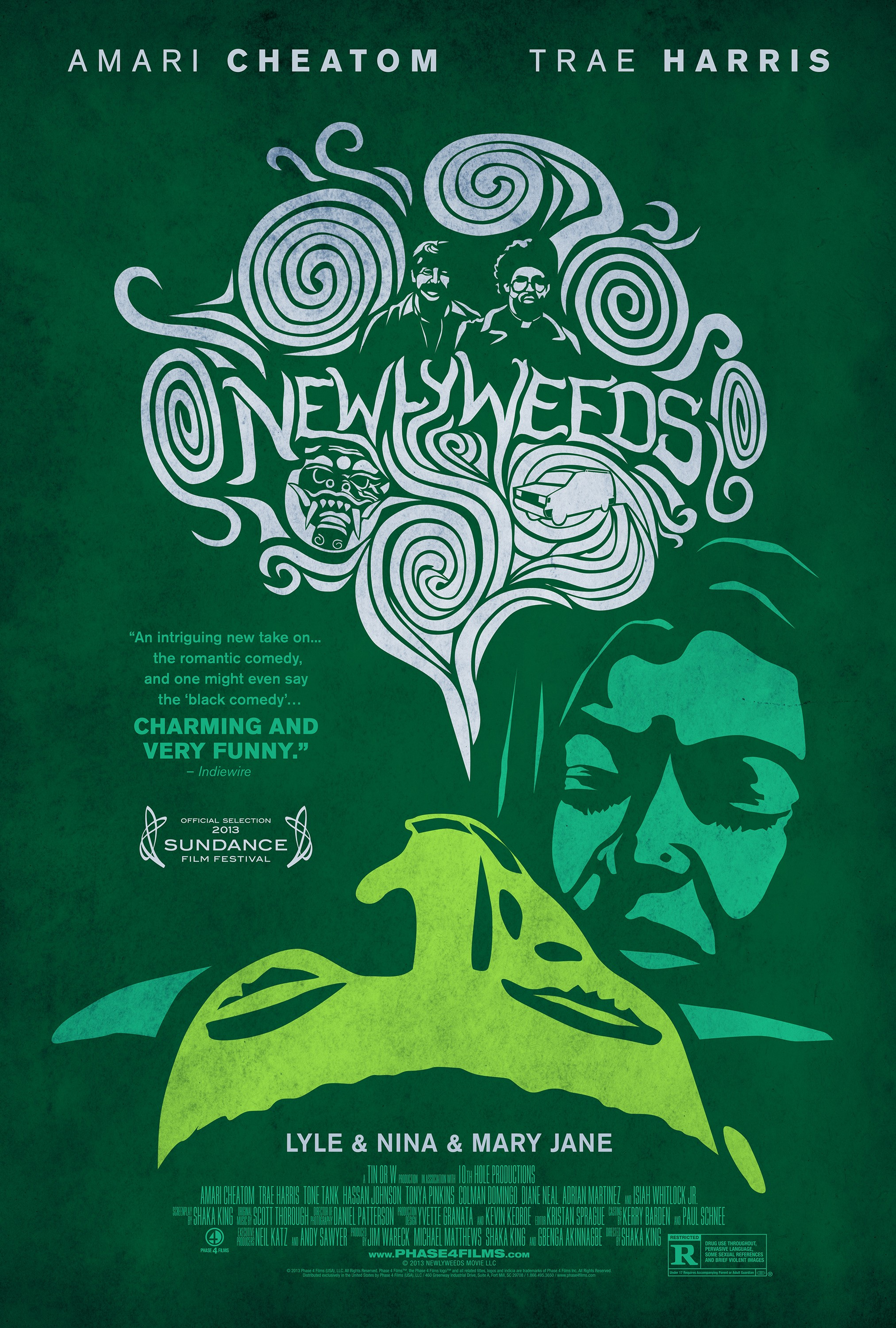 Mega Sized Movie Poster Image for Newlyweeds