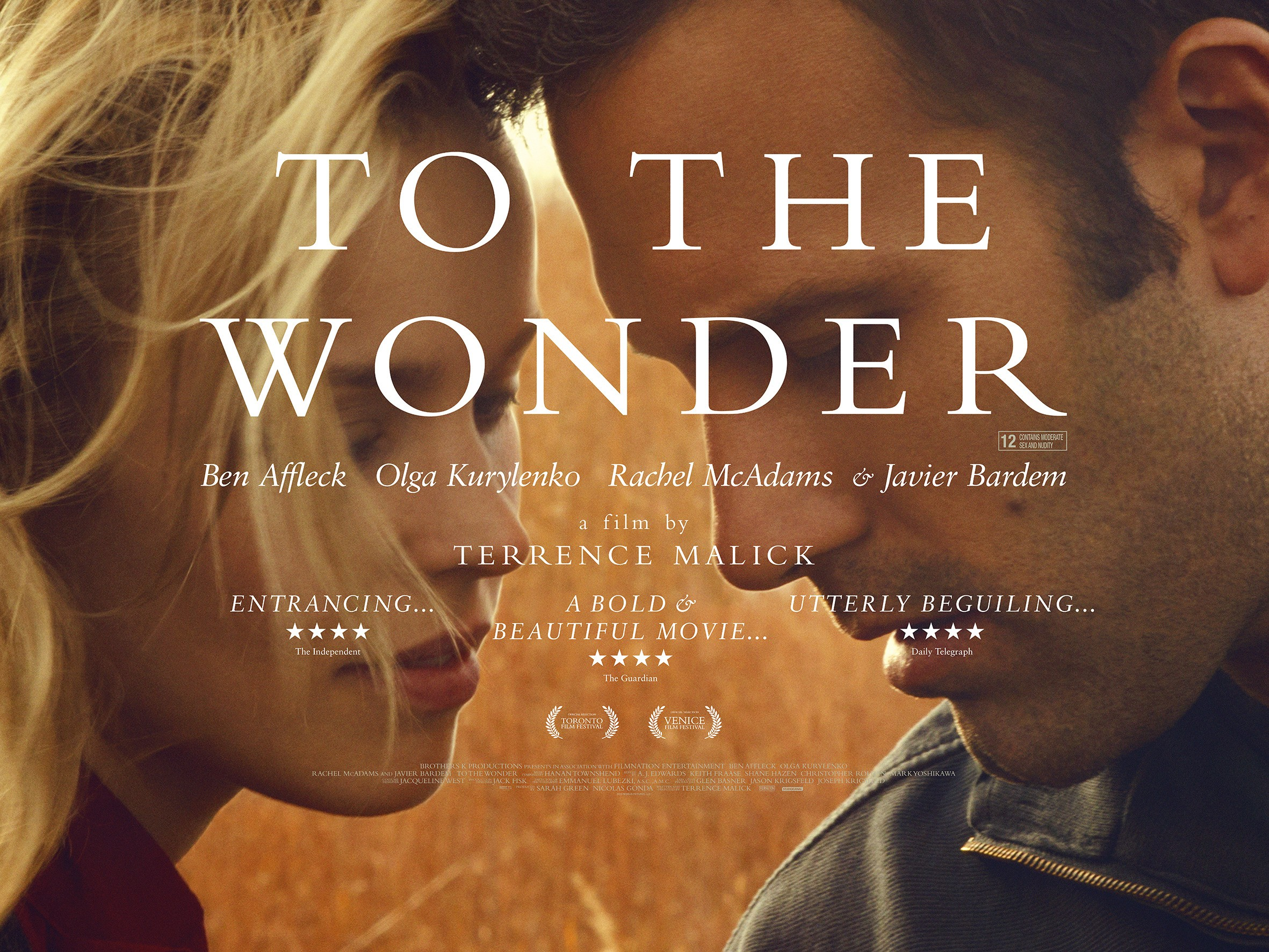 Image result for to the wonder film poster