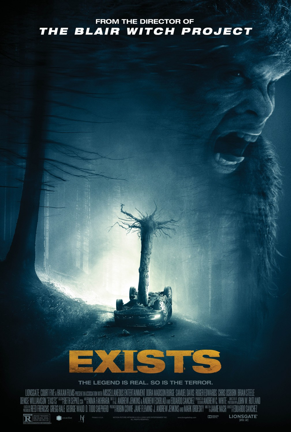 Extra Large Movie Poster Image for Exists