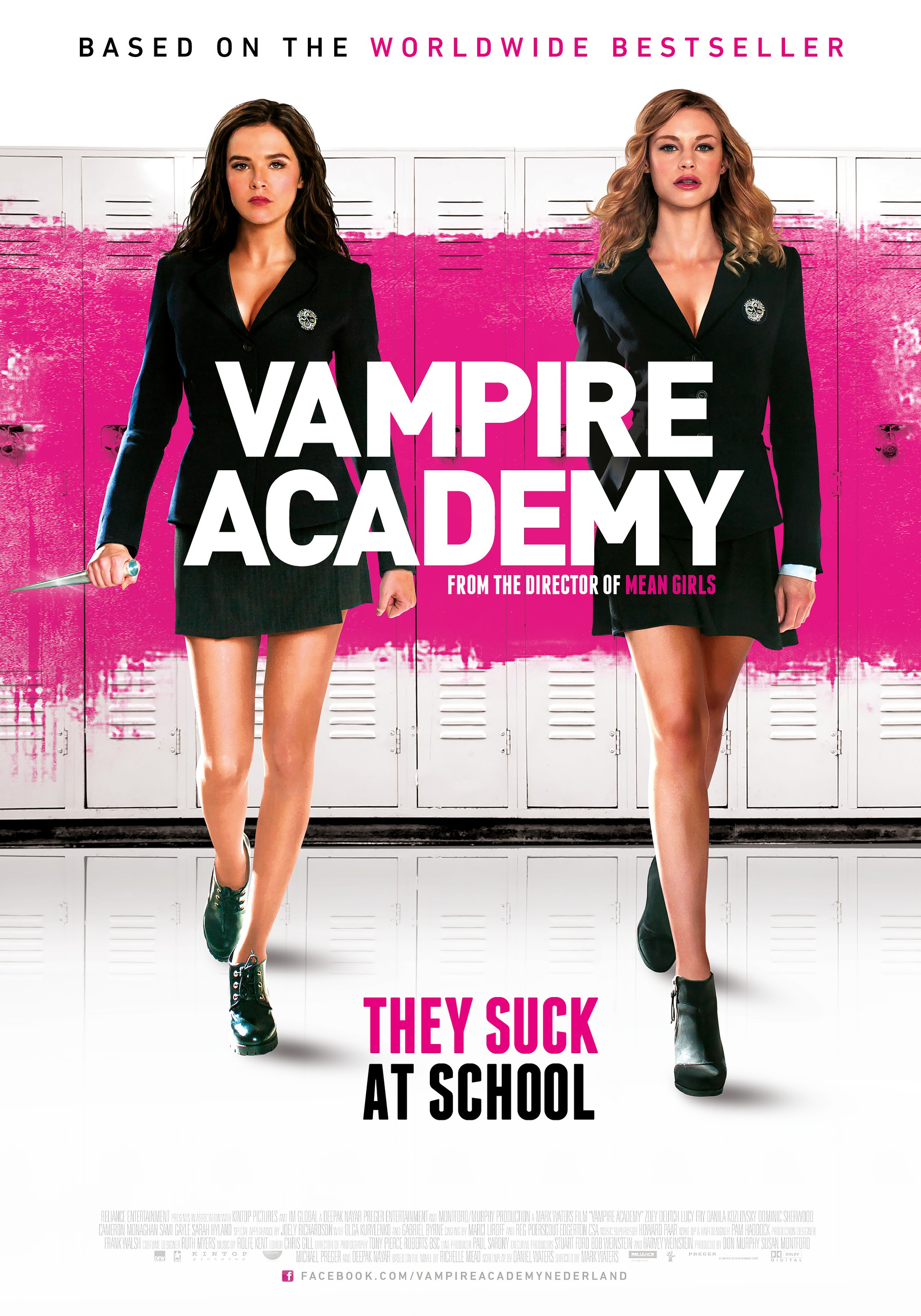Mega Sized Movie Poster Image for Vampire Academy (#4 of 27)