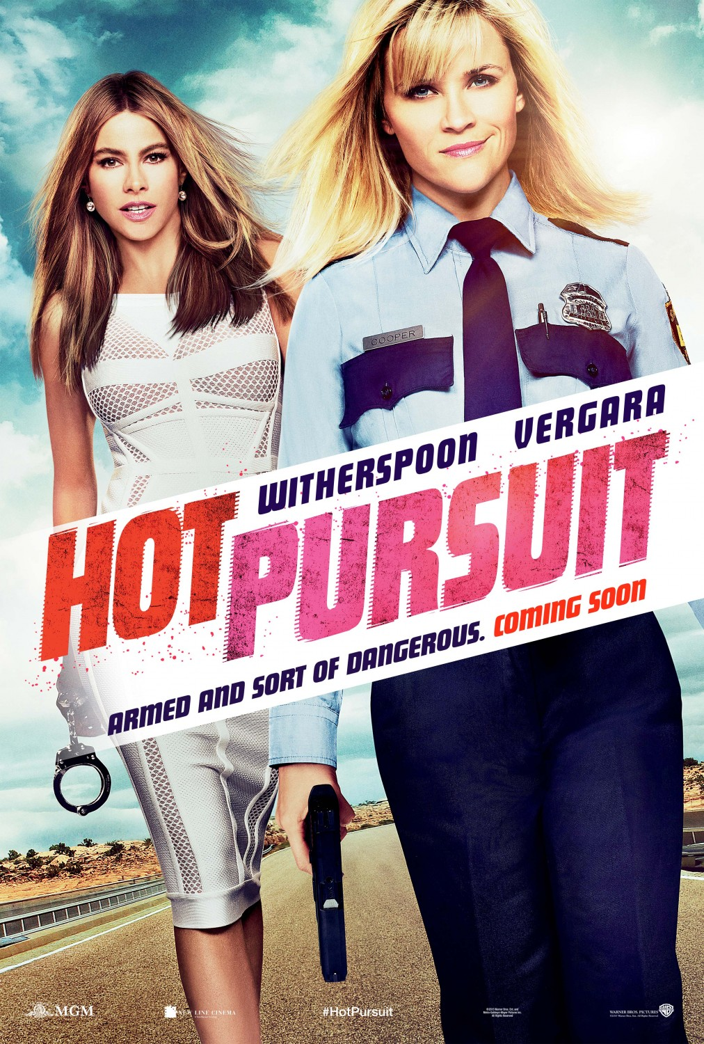 Extra Large Movie Poster Image for Hot Pursuit