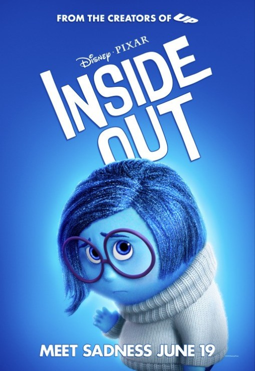 """Inside Out"" Blue girl with Glasses"