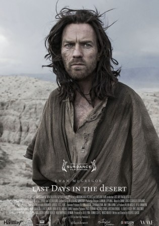 Poster of Last Days in The Desert 2015 WEB-DL 480p English 300MB ESubs Watch Online Free Download Worldfree4u