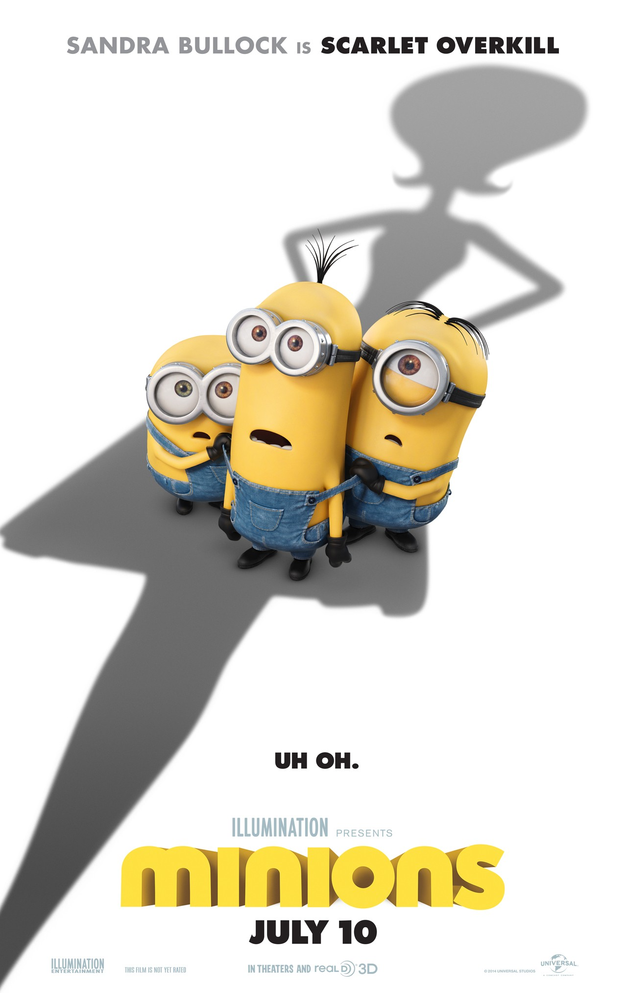 Image result for minions movie poster