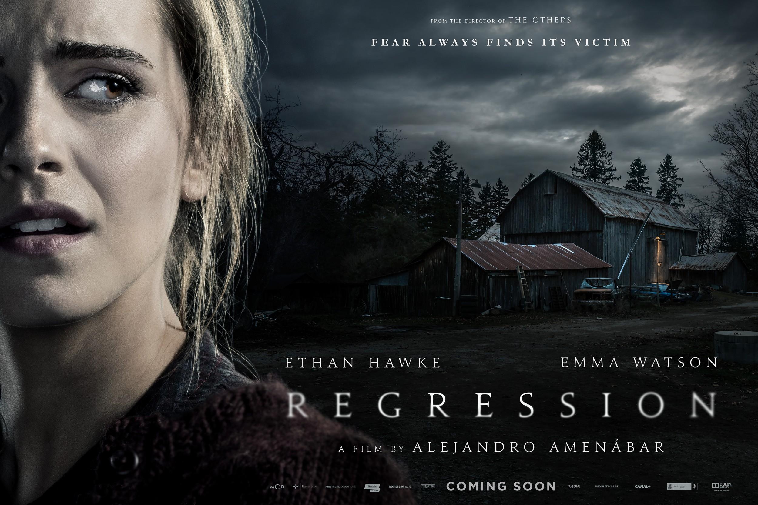 Regression film poster 2015