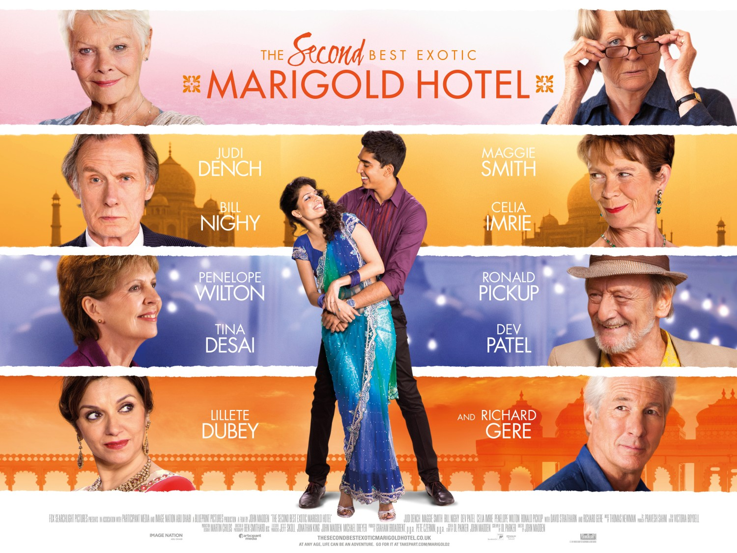 Image result for best exotic marigold hotel poster