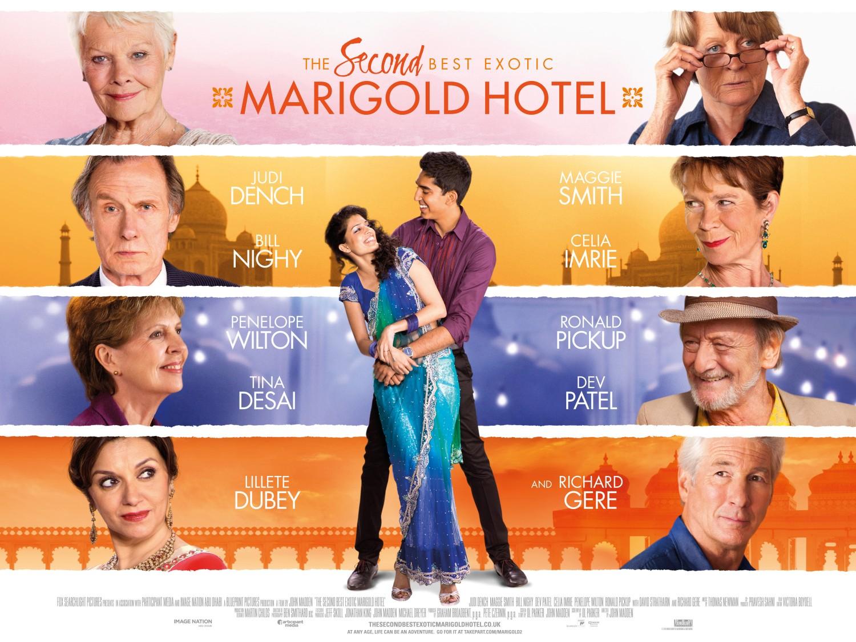 Image result for best exotic marigold hotel poster