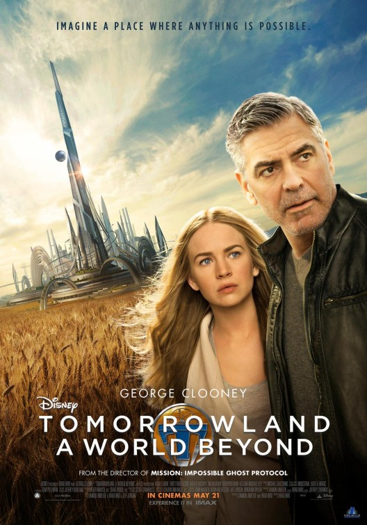 Afbeeldingsresultaat voor tomorrowland movie poster