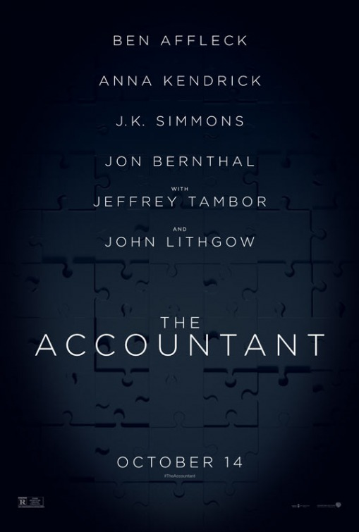 Image result for the accountant movie poster